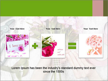 Florist at work PowerPoint Template - Slide 22