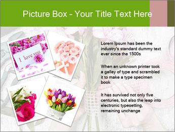 Florist at work PowerPoint Template - Slide 23