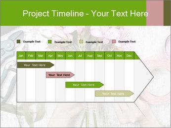 Florist at work PowerPoint Template - Slide 25