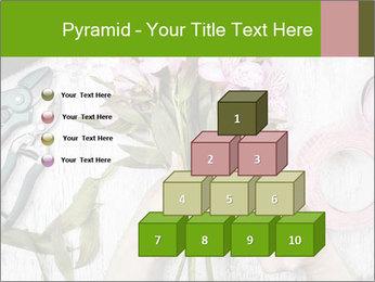 Florist at work PowerPoint Template - Slide 31