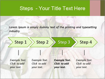 Florist at work PowerPoint Template - Slide 4