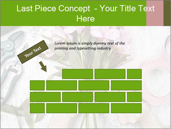 Florist at work PowerPoint Template - Slide 46