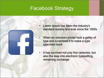 Florist at work PowerPoint Template - Slide 6