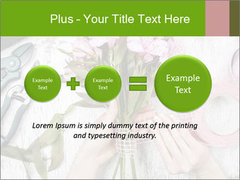 Florist at work PowerPoint Template - Slide 75