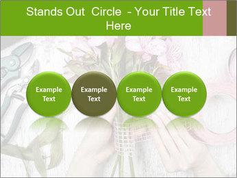 Florist at work PowerPoint Template - Slide 76