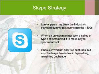 Florist at work PowerPoint Template - Slide 8