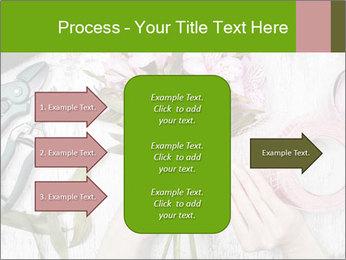 Florist at work PowerPoint Template - Slide 85