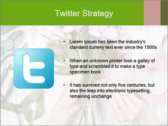 Florist at work PowerPoint Template - Slide 9