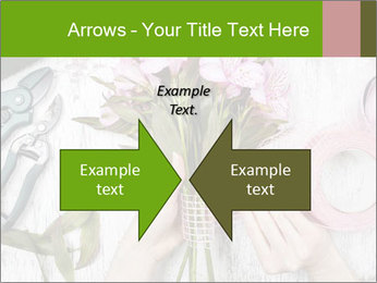 Florist at work PowerPoint Template - Slide 90