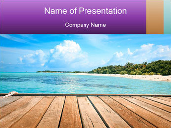 Beach PowerPoint Templates - Slide 1