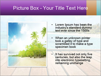 Beach PowerPoint Templates - Slide 13