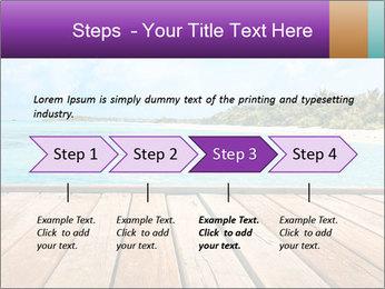 Beach PowerPoint Template - Slide 4