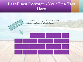 Beach PowerPoint Template - Slide 46