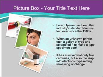 Herpes virus PowerPoint Template - Slide 17
