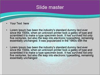 Herpes virus PowerPoint Template - Slide 2