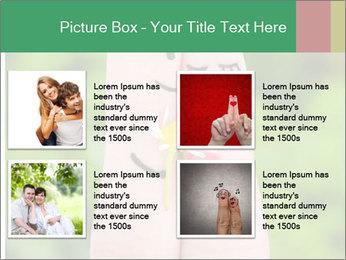 Finger couple PowerPoint Template - Slide 14