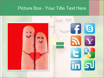 Finger couple PowerPoint Templates - Slide 21