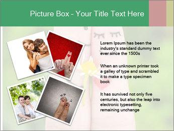 Finger couple PowerPoint Template - Slide 23