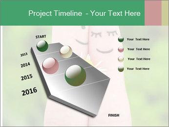 Finger couple PowerPoint Templates - Slide 26