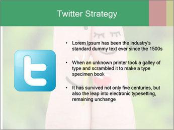 Finger couple PowerPoint Templates - Slide 9