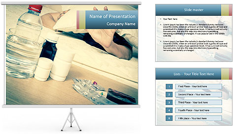 Asian handsome PowerPoint Template