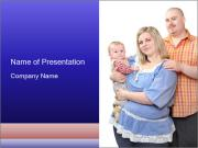 Happy family PowerPoint Templates