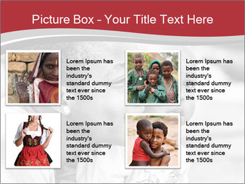 Girl smiles PowerPoint Template - Slide 14