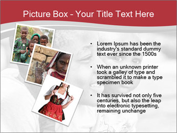 Girl smiles PowerPoint Template - Slide 17