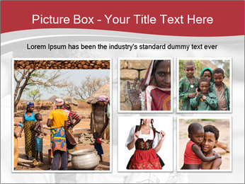Girl smiles PowerPoint Template - Slide 19