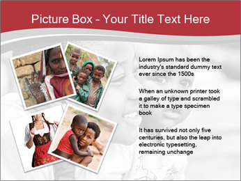 Girl smiles PowerPoint Template - Slide 23