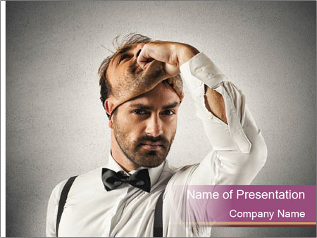 Concept of time PowerPoint Template