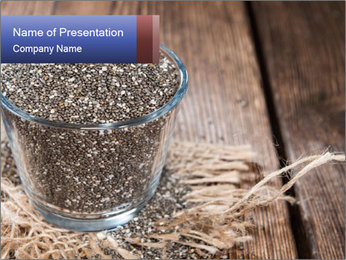 Seeds PowerPoint Template - Slide 1