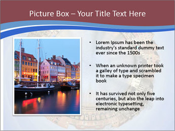 View of Amsterdam PowerPoint Templates - Slide 13