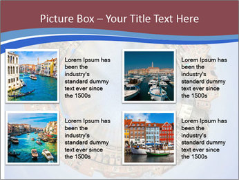 View of Amsterdam PowerPoint Templates - Slide 14