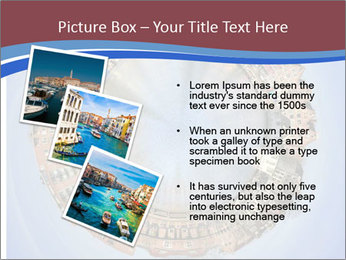 View of Amsterdam PowerPoint Templates - Slide 17