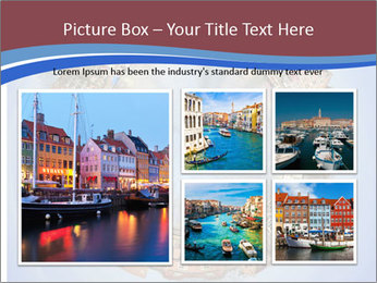 View of Amsterdam PowerPoint Templates - Slide 19