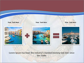 View of Amsterdam PowerPoint Templates - Slide 22