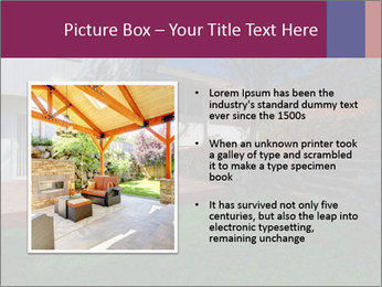 Spacious backyard PowerPoint Templates - Slide 13