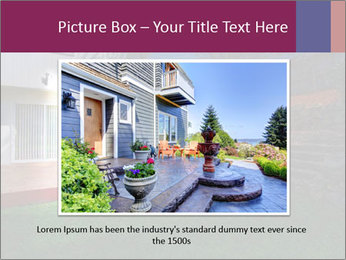 Spacious backyard PowerPoint Templates - Slide 15