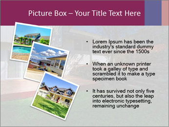 Spacious backyard PowerPoint Templates - Slide 17