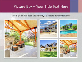 Spacious backyard PowerPoint Templates - Slide 19