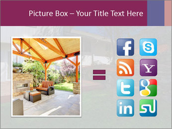 Spacious backyard PowerPoint Templates - Slide 21