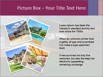 Spacious backyard PowerPoint Templates - Slide 23