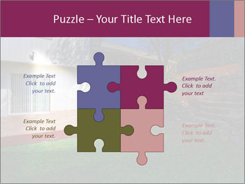 Spacious backyard PowerPoint Templates - Slide 43