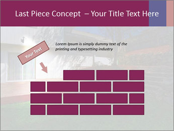 Spacious backyard PowerPoint Templates - Slide 46
