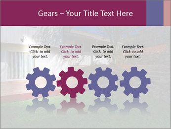 Spacious backyard PowerPoint Templates - Slide 48