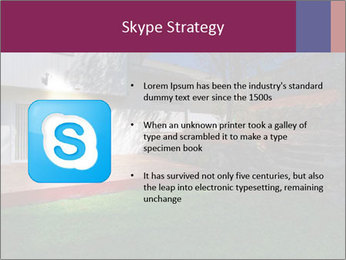 Spacious backyard PowerPoint Templates - Slide 8