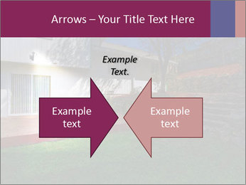 Spacious backyard PowerPoint Templates - Slide 90
