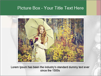 Beautiful young woman PowerPoint Template - Slide 16