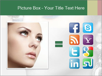 Beautiful young woman PowerPoint Template - Slide 21